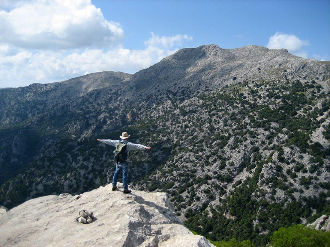 Wandern - Auf dem Gipfel