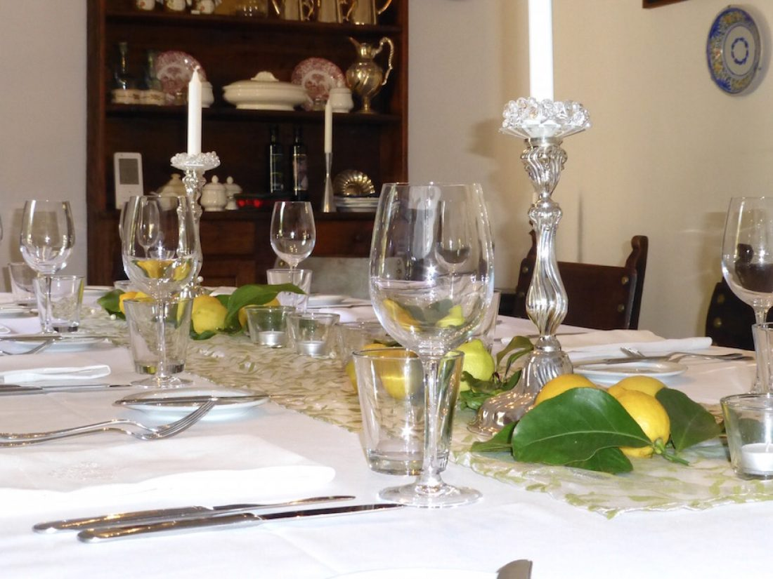 Finca Raims - der Tisch ist gedeckt...