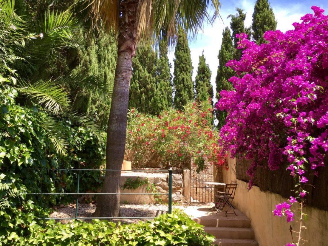 Casa Escala - Blick in den Patio