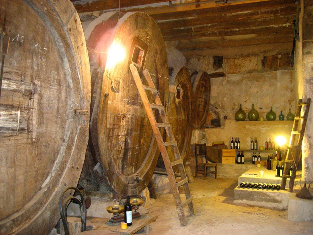 Finca Raims - der Weinkeller