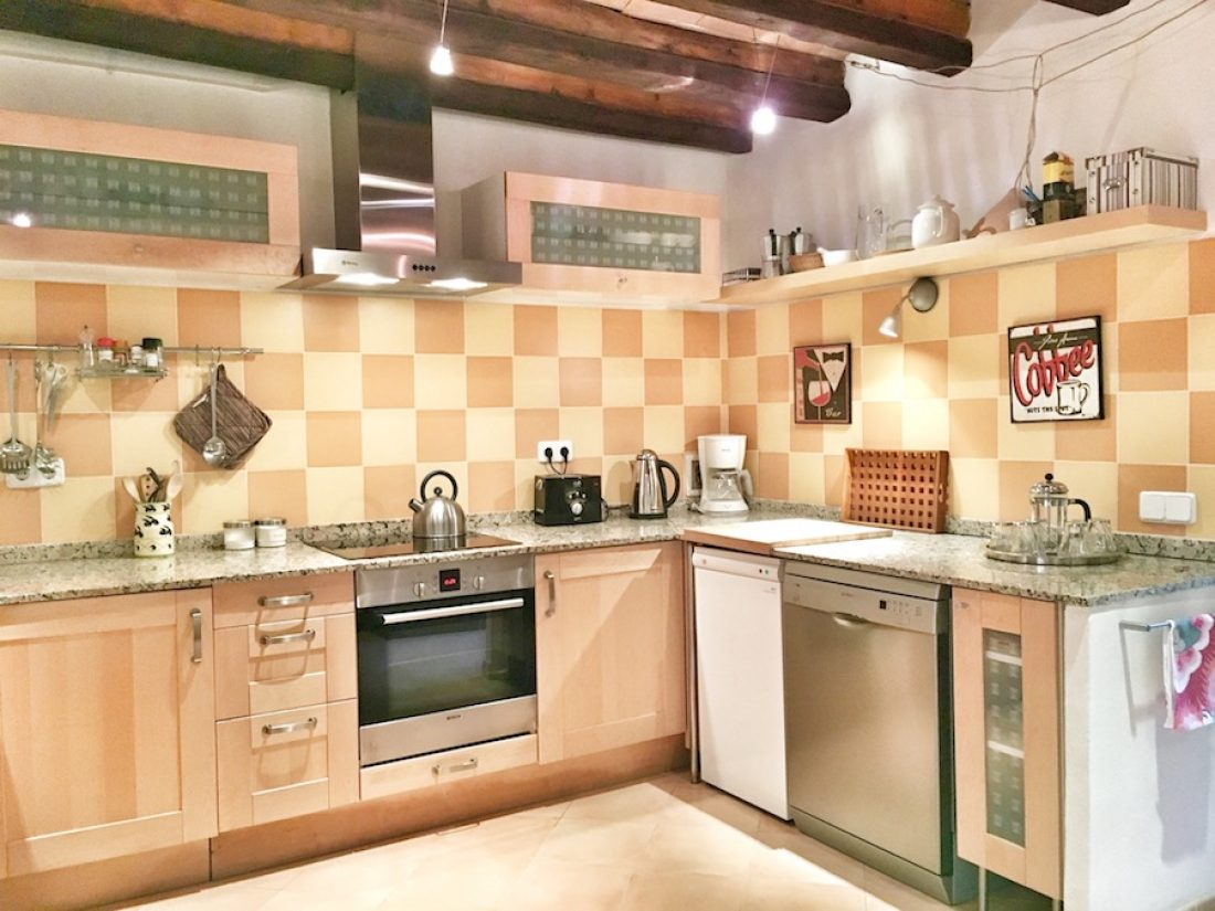 Casa Escala - die Küche.