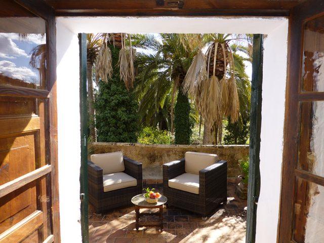 Syrah - la terraza