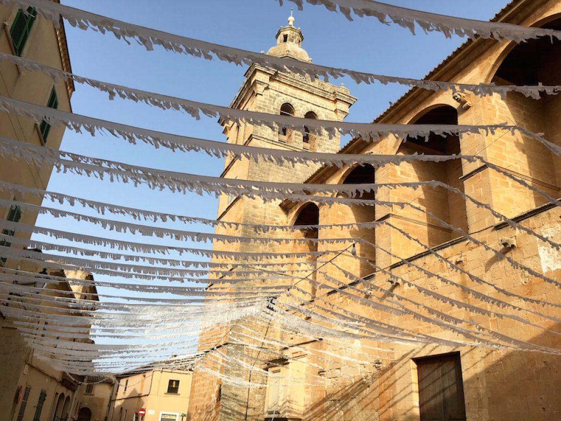 The church of Algaida