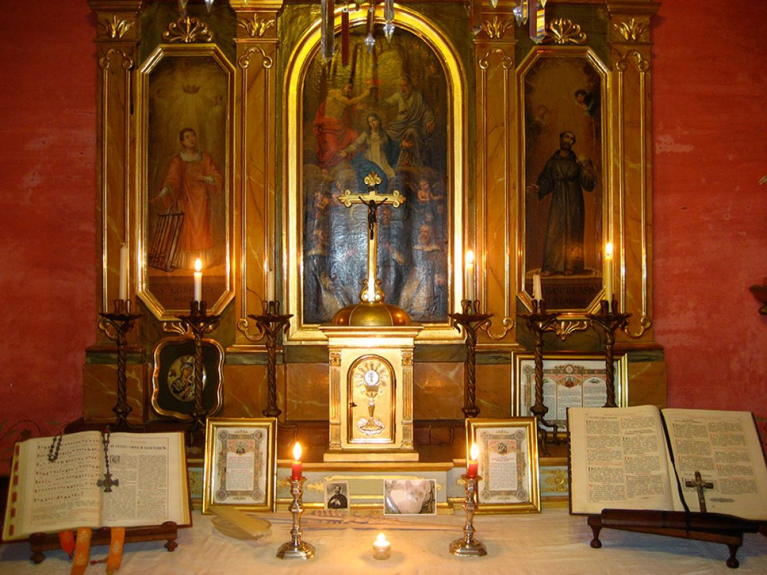 Finca Raims - la capilla