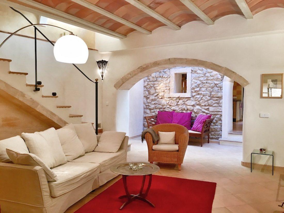 Casa Escala - das Wohnzimmer