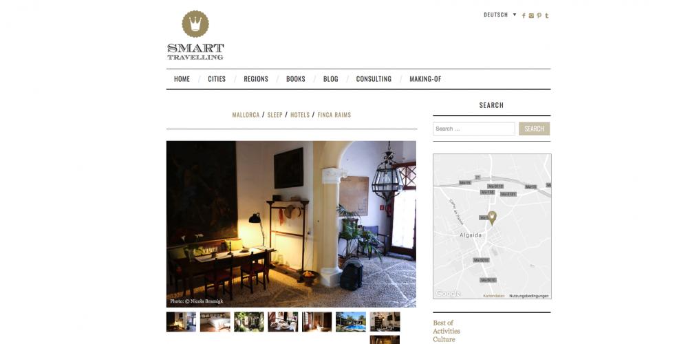 Unser Hotel auf Smart Travelling
