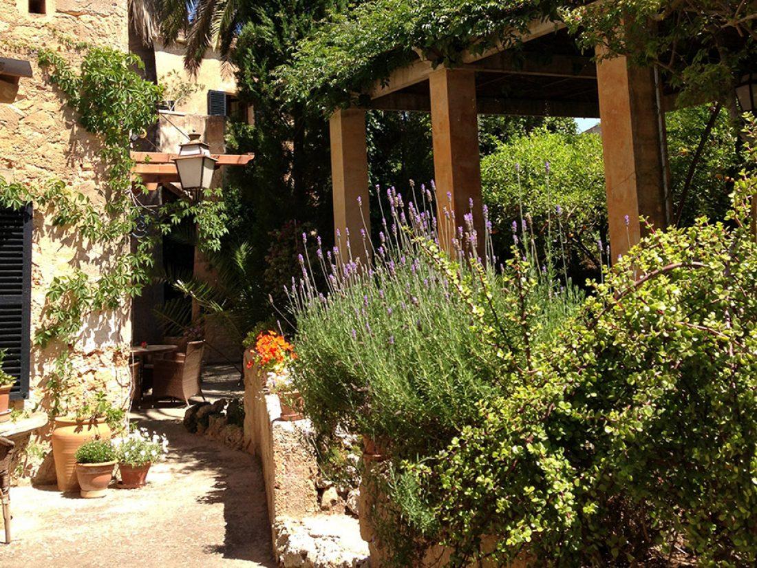 Nuestro patio - un lugar para relajarse