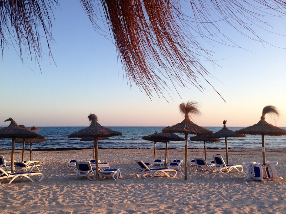 Playa d´es Trenc, a solo 30 km de la Finca Raims.