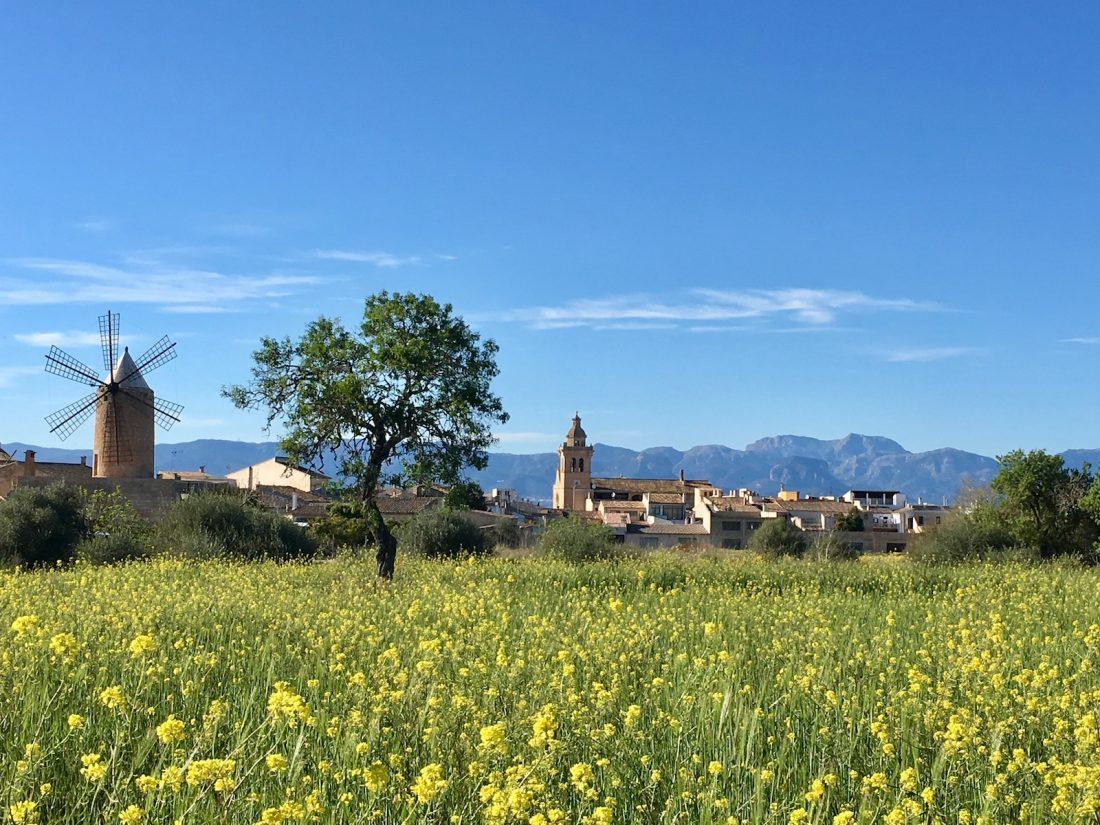 Algaida im Herzen von Mallorca
