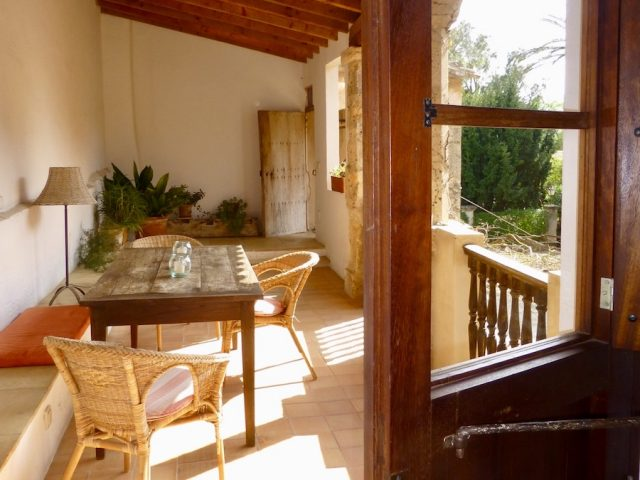 Garnacha - die Terrasse