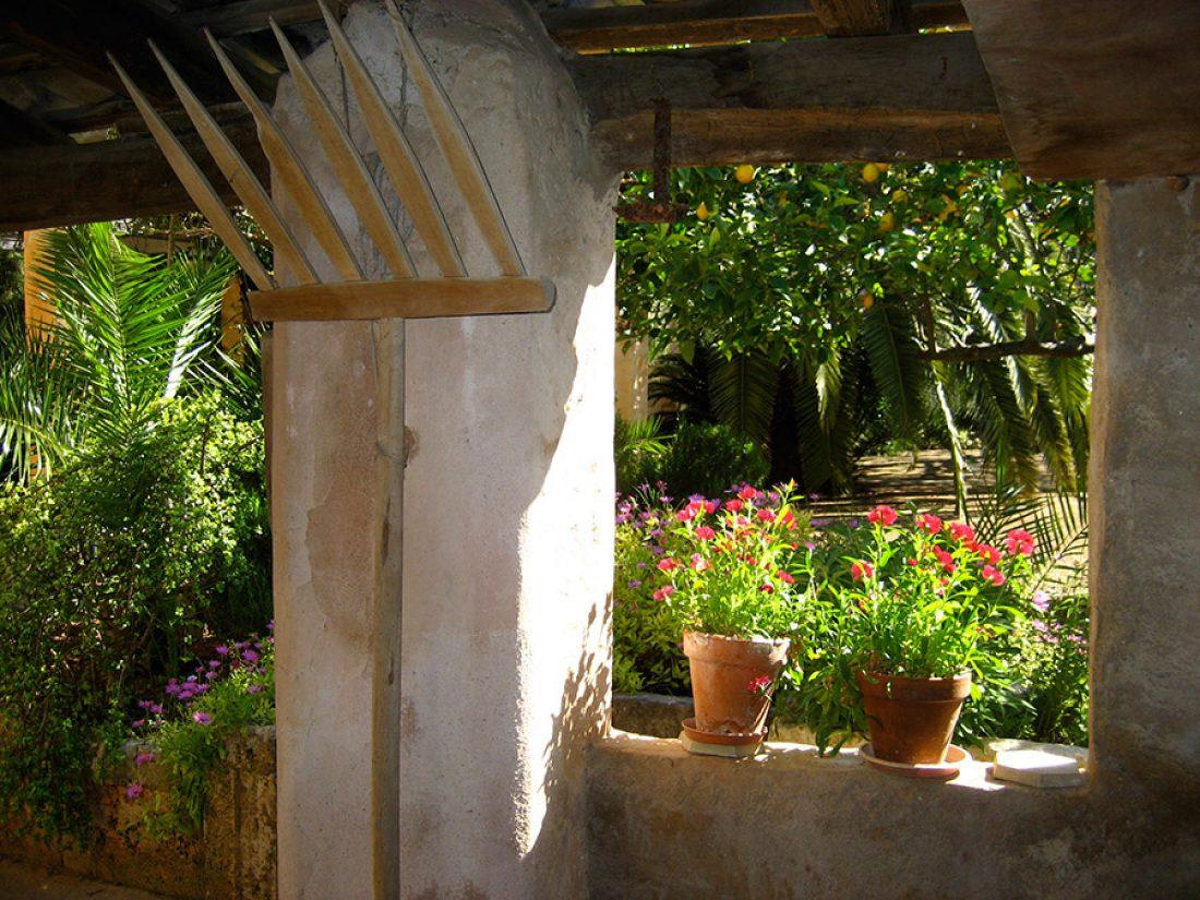 El jardín de la Finca Raims