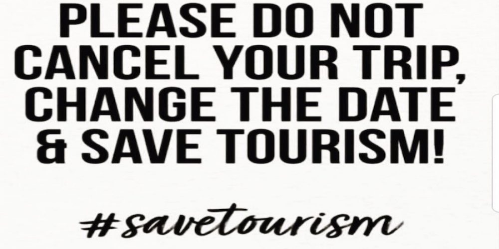 Please save Tourism!