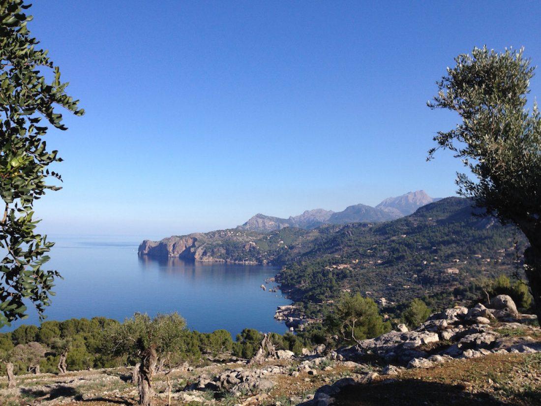 Nordküste in der Sierra de Tramuntana