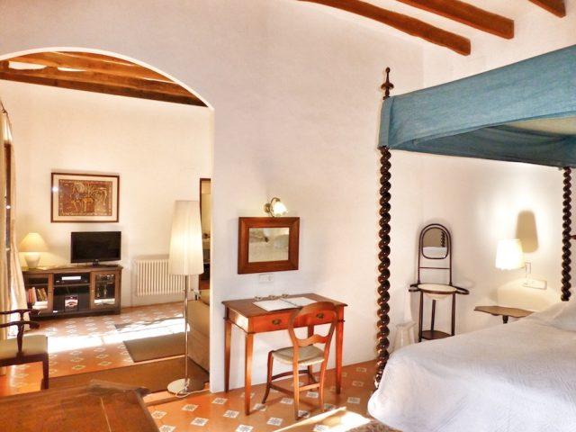 Malvasia Schlafzimmer und Wohnzimmer