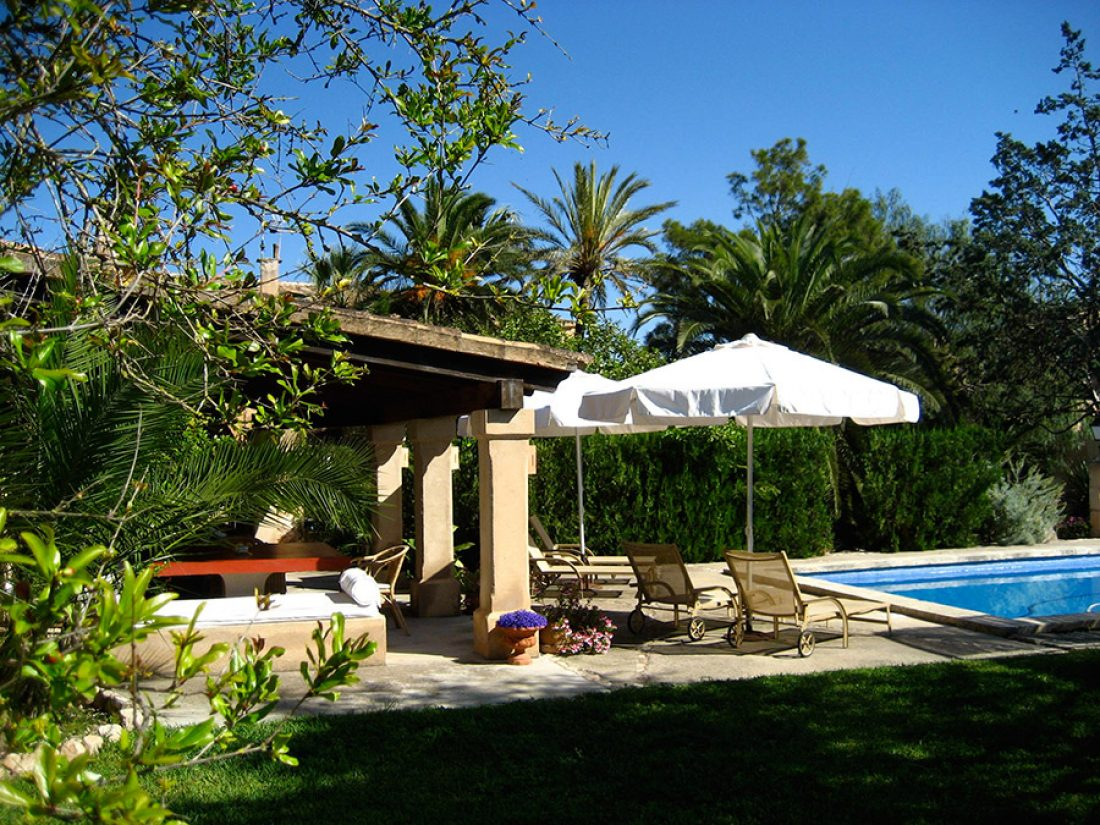 Relax at our pool.