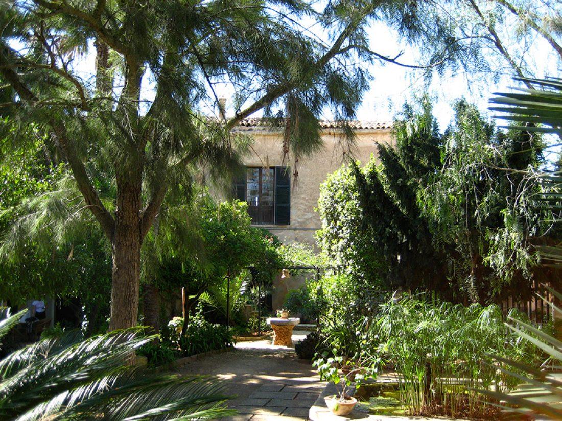 Gartenansicht vom Fincahotel