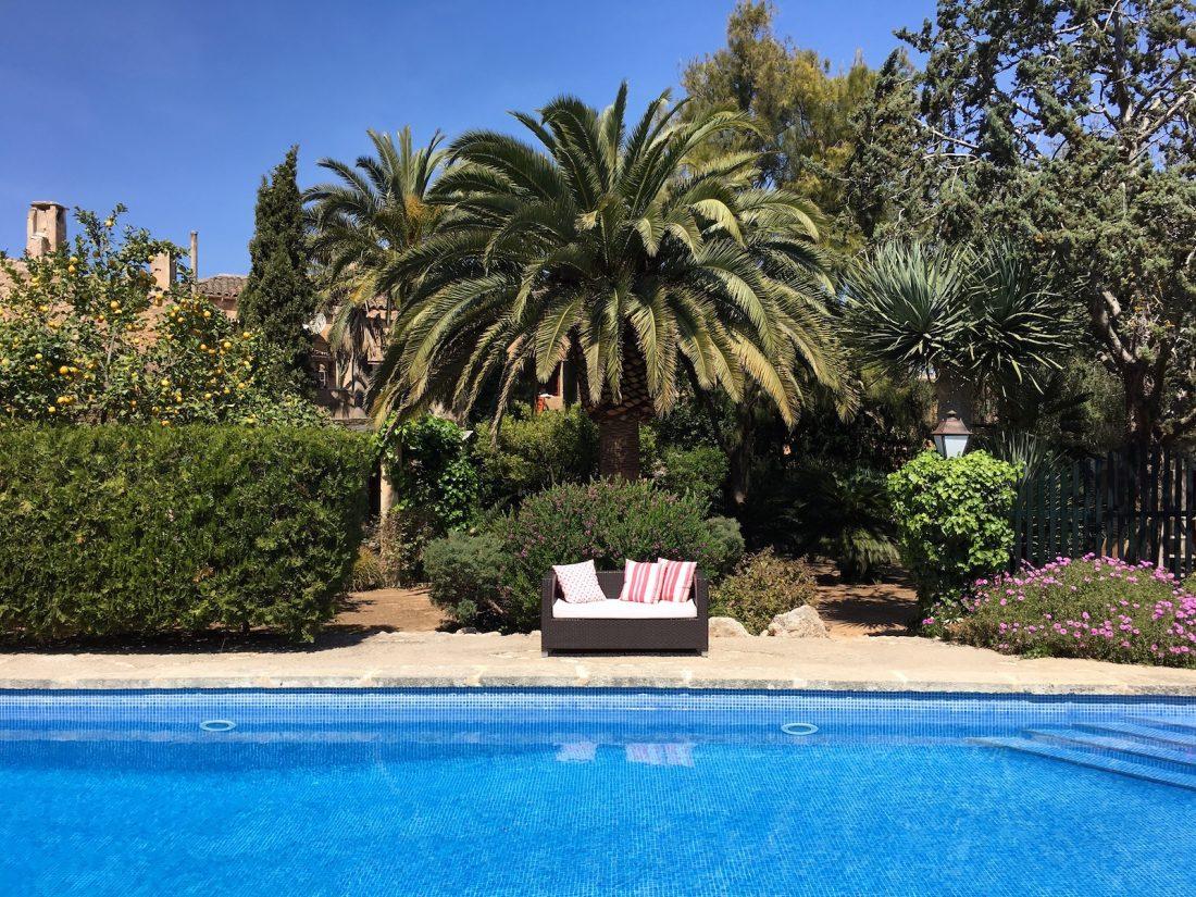 Der paradiesische Garten der Finca Raims